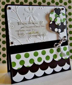 http://myprincess-peaches.blogspot.com/ - green and black card-I love the quote...