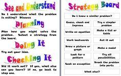 Strategies for Mathsboard (word doc)