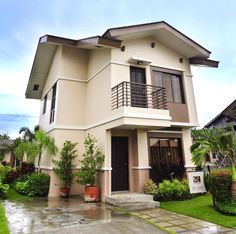 This house plan is a 3 bedroom 2 storey house which can be for Small house architecture design philippines