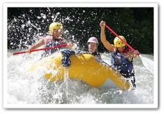 Whitewater Rafting Tieton River with Blue Sky Outfitters
