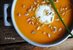 Healthy Recipes, Healthy Food, Cheeseburger Chowder, Thai Red Curry, Food And Drink, Soup, Pumpkin, Strong, Meat