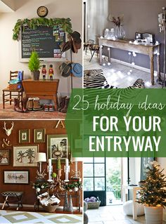 25 Festive Ideas for Your Holiday Entryway | Henry Happened