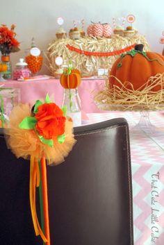 A Sweet Little Pumpkin Party !!! | That Cute Little CakePumpkin wands