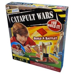 Boy Craft Catapult Wars Game Kit For Boys