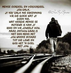 Afrikaans Quotes, Bible Verses Quotes, Captions, Movies, Movie Posters, Everything, Films, Film Poster, Scriptures