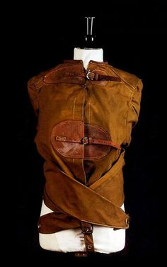 Straight jacket worn by Houdini
