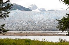 The Taku Glacier, formed thousands of years ago.