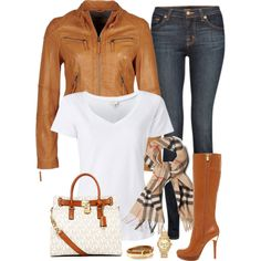 A fashion look from March 2013 featuring Witchery t-shirts, J Brand jeans and MICHAEL Michael Kors boots. Browse and shop related looks.