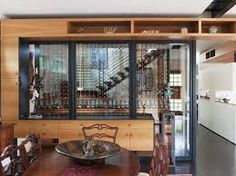 Image result for glass wine cellar