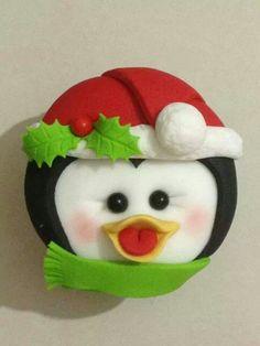 cutest cupcake ever! Christmas Stocking Kits, Christmas Goodies, Christmas Stockings, Christmas Gifts, Christmas Ornaments, Chrismas Cake, Christmas Cupcakes, Pretend Food, Cute Cupcakes