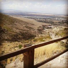 El paisaje a la mitad del camino