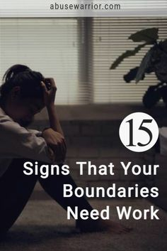 15 signs that your boundaries need work along with some additional information about what boundaries are, and why they're so darn important. Controlling Relationships, Broken Relationships, Healthy Relationships, Gaslighting, Codependency, Emotional Abuse, Relationship Challenge, Relationship Advice