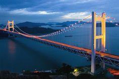 Shimotsui seto Bridge, Japan