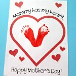 """""""Mommy Has My Heart"""" Mother's Day Printable"""
