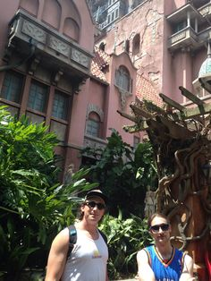 We don't want to, but you gotta do this if you go to Hollywood Studios... Tower of Terror.