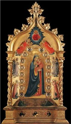 Madonna of the Star - Fra Angelico
