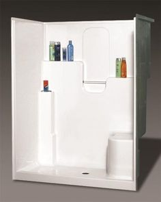 1000 images about small bathroom 60x30 shower on for Small bathroom oasis