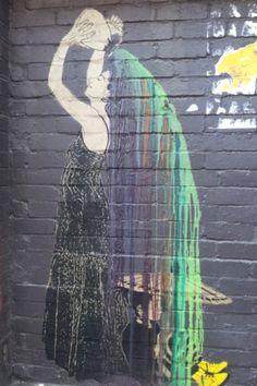 """Be Free"" - Melbourne street art"