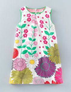 Summer Printed Dress 33430 Day Dresses at Boden