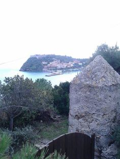 Dal #Forte di #Santa #Caterina...  Panorama di #PortoErcole vecchio e della #Rocca #Aldobrandesca . #Monte #Argentario - #Maremma - #Tuscany