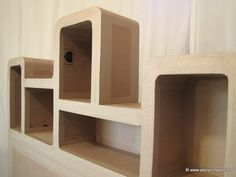 Tête de lit en carton modèle Haustin Atelier Chez Soi Patron P21 - Créer ses meubles en carton