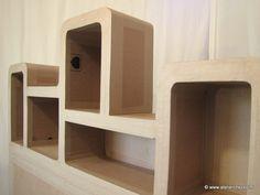 rangements on pinterest cardboard furniture bureaus and cardboard chair. Black Bedroom Furniture Sets. Home Design Ideas