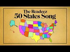 Readeez 50 States Song Readeez