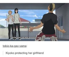 Such a left out ship though?? KiyoYachi is cute.