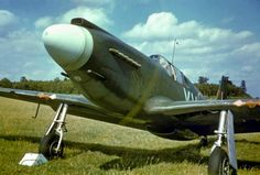 https://flic.kr/p/dh8mhn   Mustang I, 26 Sqn.   1942.   The North American Mustang I entered RAF service with 26 Sqn. in January 1942. However the lack of power in the Allison V-1710 engine resulted in this type being used for reconnaissance and ground attack duties.
