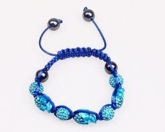 Fashion Shamballa Bracelets, DIY handmade