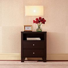Lifestyle Solutions 500 Series 2 Drawer Nightstand |