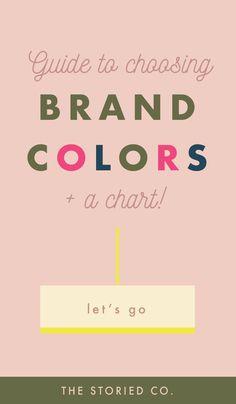 How to choose colors when you brand your business. Hoe u kleuren kiest wanneer u uw bedrijf brandmerkt. Personal Branding, Marca Personal, Branding Your Business, Creative Business, Business Logos, Personal Logo, Corporate Branding, Logo Branding, Business Tips
