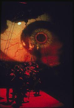 Scene from Evald Schorm's Ulysses, directed by Josef Svoboda, 1987 - Theatre Set Theatre, Set Design Theatre, Stage Design, Theatrical Scenery, Stage Set, Scenic Design, T Rex, Costume Design, Creative Art