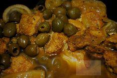 Tajine aux Citrons confits & aux Olives au Cookéo - Graine d'Epices Chicken Wings, Meat, Food, Preserved Lemons, Kitchens, Eten, Meals, Diet