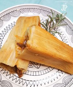 EASY Chicken Tamales Recipe and Pork Tamales for Las Posadas with HERDEZ…
