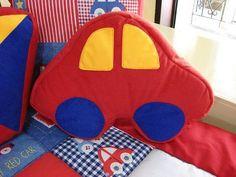 Manualidades Luna Clara: Almohadones infantiles (con moldes)