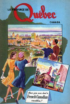 Quebec Tourist Booklet c.1948