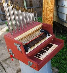 Make Your Own Mini-Calliope Organ