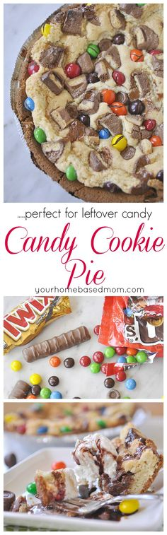 Candy Cookie Pie is