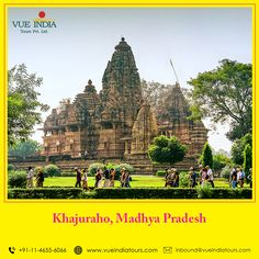 Khajuraho is one of the most popular tourist spots in Madhya Pradesh. It is famous for its ancient temples that depict some of the finest art in the world.