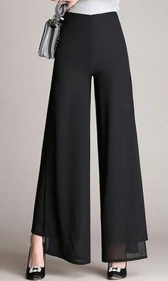 Women's High Rise Micro-elastic Chinos Sweatpants Pants #pantswomen