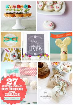 Easter DIYS and Crafts