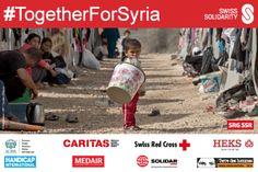 #TogetherForSyria #Switzerland @swisssolidarity #SwissSolidarity