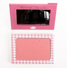 theBalm Houndstooth Instain Long-Wearing Staining Powder Blush Already have this color n really loving it! So pigmented u could barely tapped the brush so it not overdo! I'm now eyeing for lace and toile shade <3
