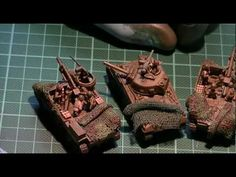 Making a camo net for your tank: 3 methods 3 VIDEO | Plastic Models World
