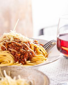 Spaghetti, Pasta, Groot, Ethnic Recipes, Lasagna, Red Peppers, Noodle, Pasta Recipes, Pasta Dishes