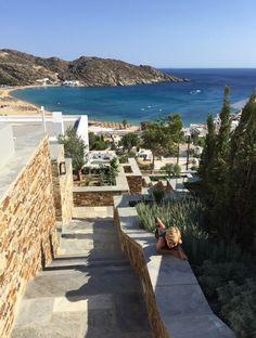 Luxury family villas in Ios, Greece Greece House, Instagram And Snapchat, Family Holiday, Luxury Villa, Outdoor Furniture, Outdoor Decor, Villas, Sun Lounger, Ios
