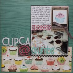 Shimelle's Cupcakes @ Crumbs - Two Peas in a Bucket for day 22 New Skill Saturday