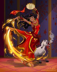 Firebender Esmeralda by racookie3.deviantart.com on @deviantART