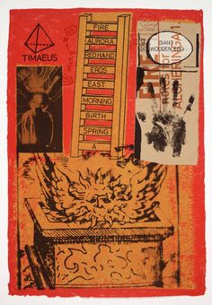 Joe Tilson 'Alcheringa 1 - Fire', 1971 © Joe Tilson. All Rights Reserved, DACS 2014